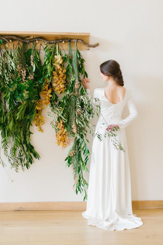 Organic wedding portrait