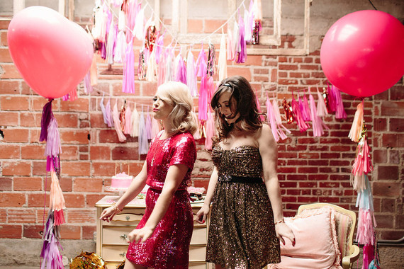Girly Valentine's Day party