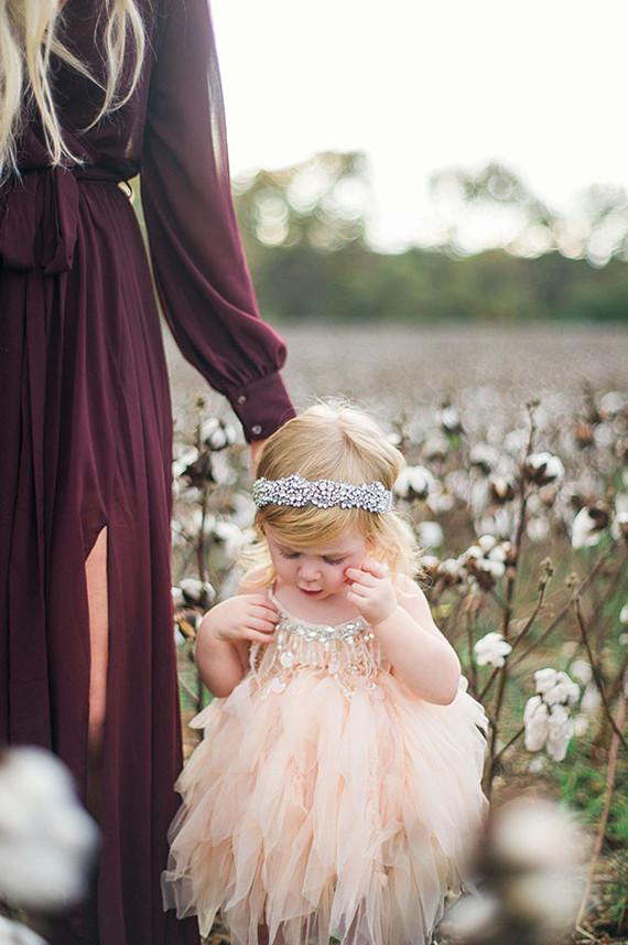 Cotton field family photos