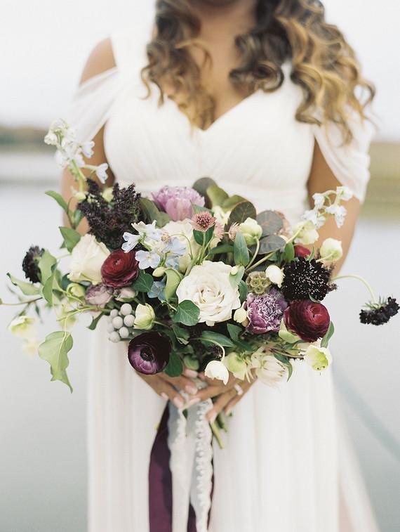 Romantic seaside wedding inspiration