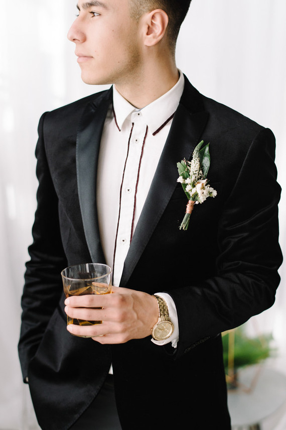 Groom portrait