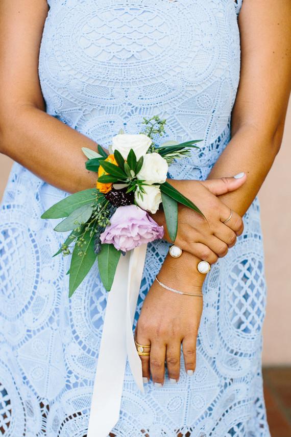 Bridesmaid's florals