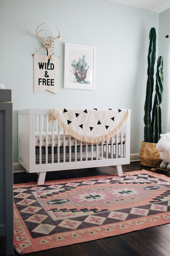 desert inspired boys nursery