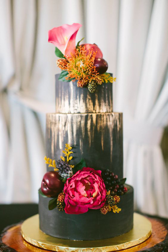 Black wedding cake ideas | Black wedding cakes | 100 Layer Cake