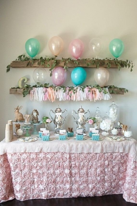 Bunny birthday party ideas