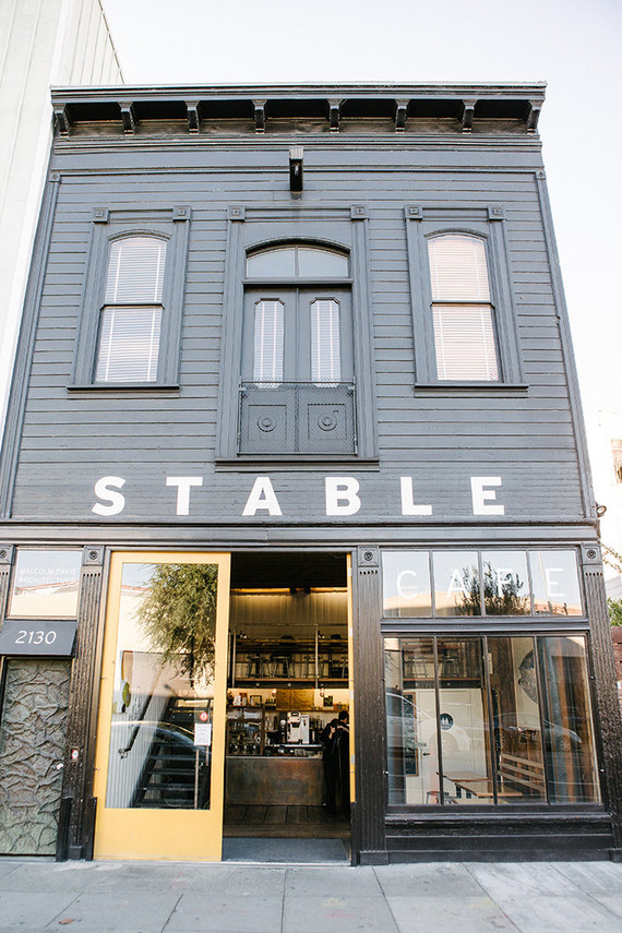 Stable Cafe surprise wedding