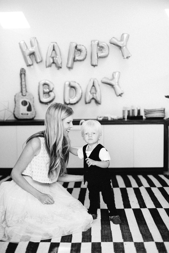 Johnny Cash 1st birthday party