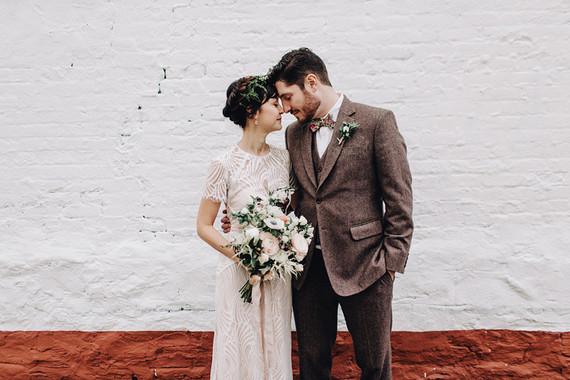 Winter wedding in Brooklyn