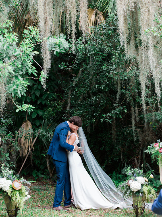 Handmade southern garden wedding