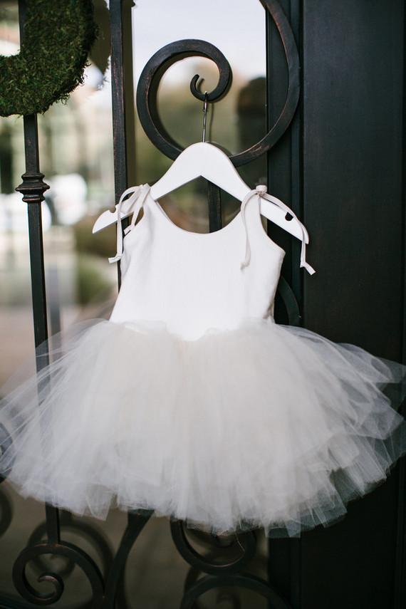 white tutu dress baby