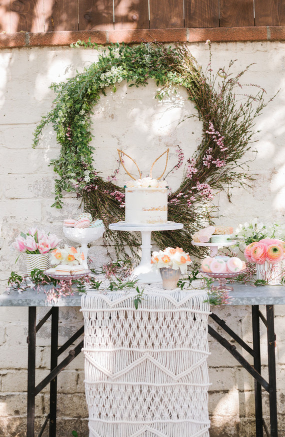 Easter brunch table inspiration