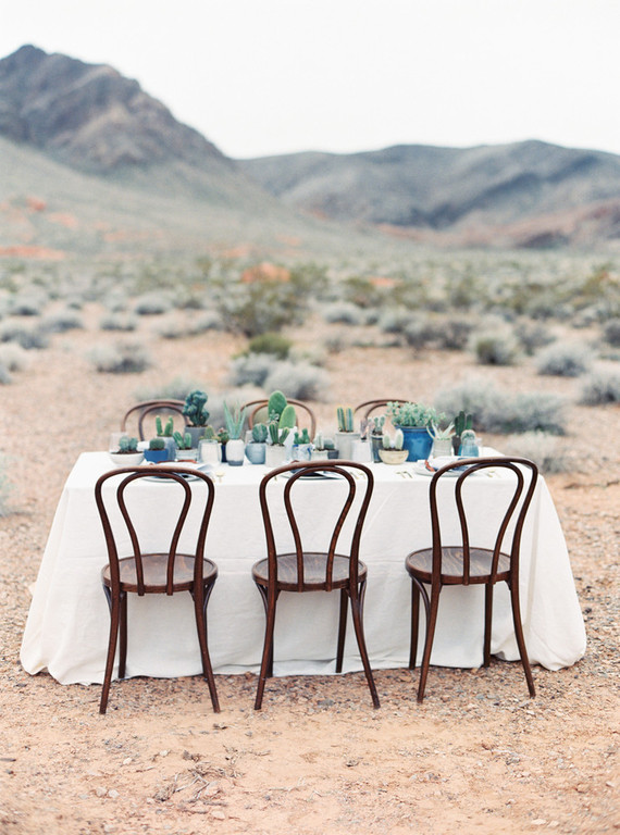 Desert wedding inspiration