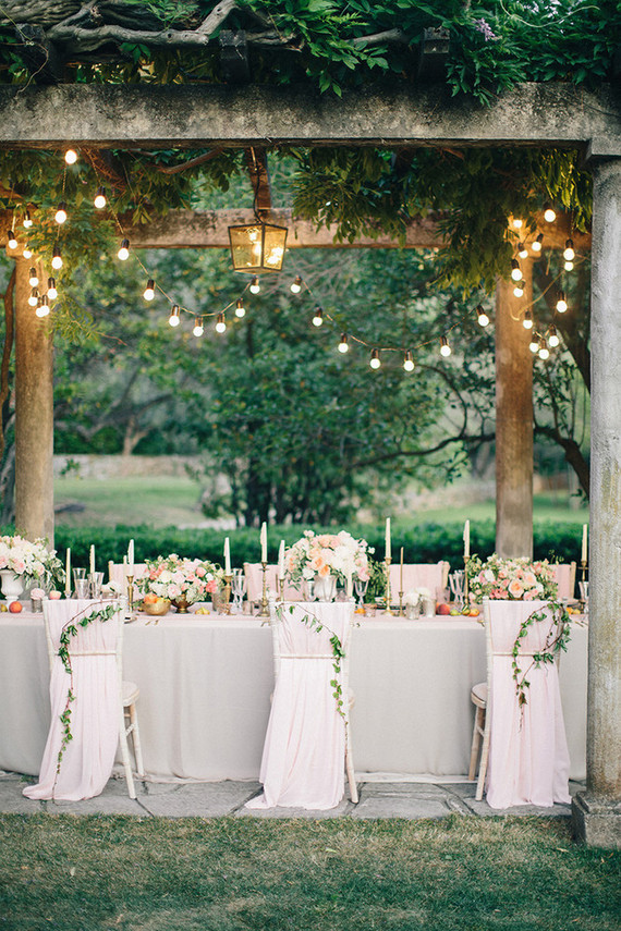 Intimate And Elegant European Wedding Garden Wedding 100 Layer Cake