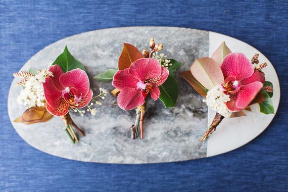 Orchid boutonnières