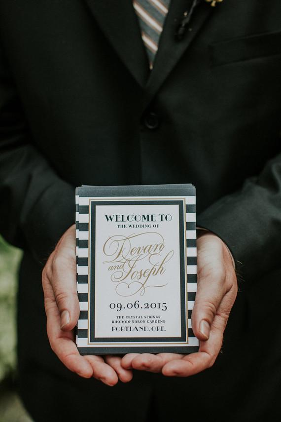 Old Hollywood inspired wedding