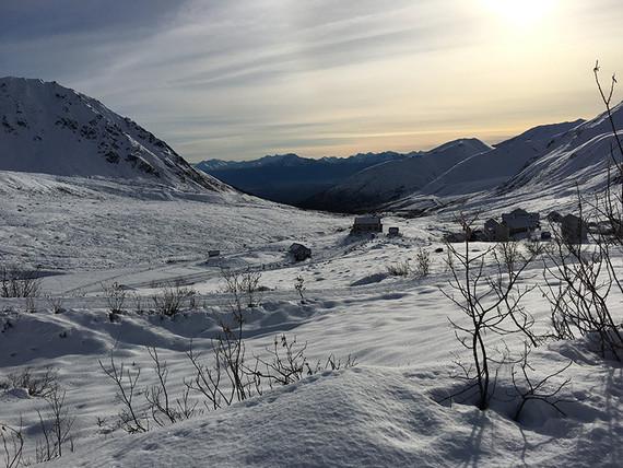 A remote Alaskan elopement