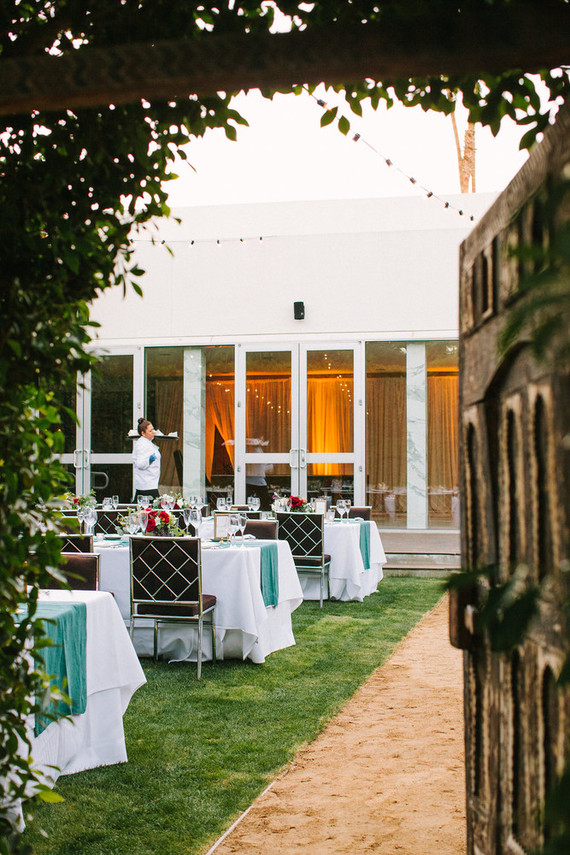 The Parker Palm Springs wedding
