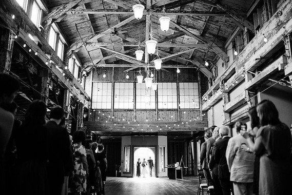 Industrial Seattle wedding