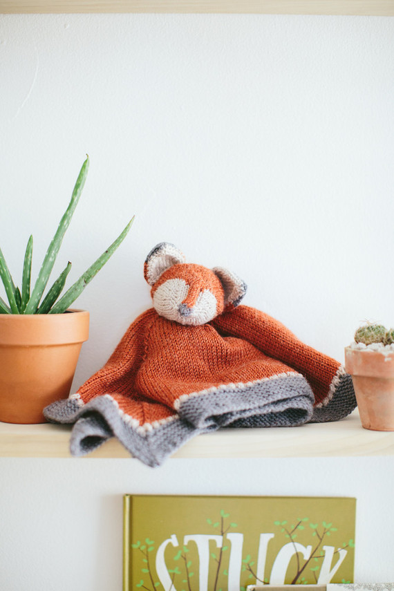 knit fox lovie
