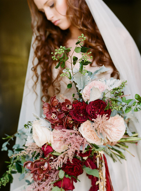 Romantic vintage wedding inspiration