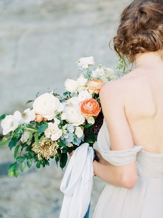 Seaside spring wedding inspiration