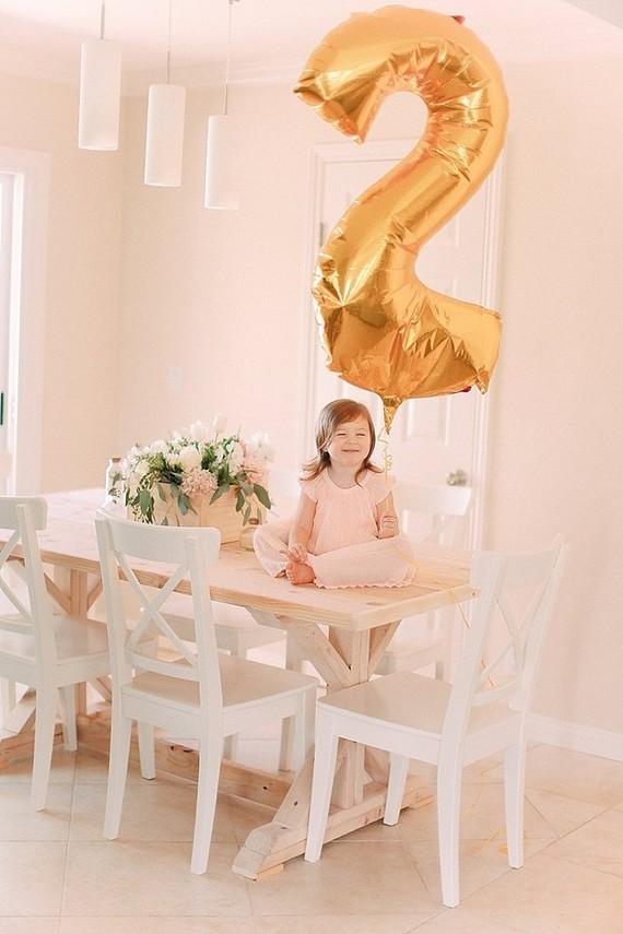 Blush 2nd birthday shoot