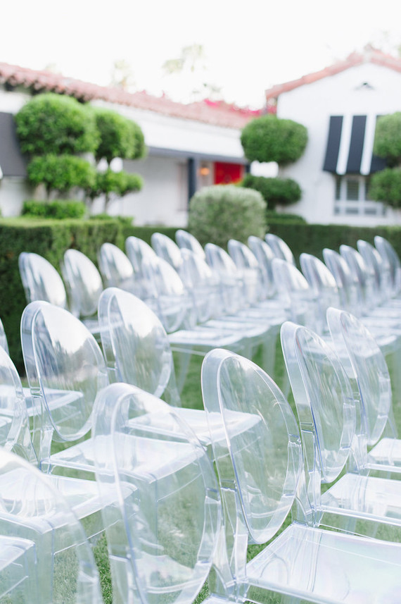Modern ghost chairs