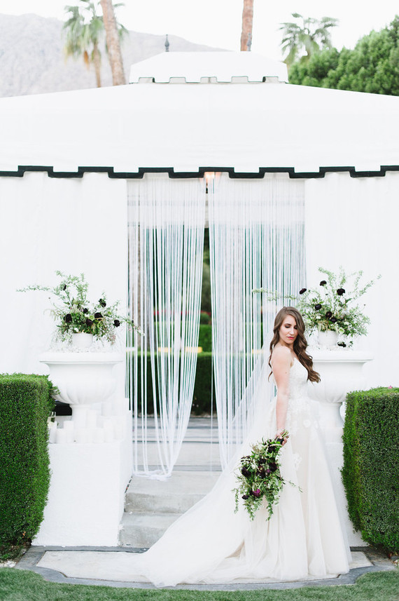 Modern Palm Springs wedding at Avalon Hotel: Erica + Ben - 100 Layer ...