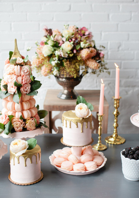 Parisian brunch wedding inspiration