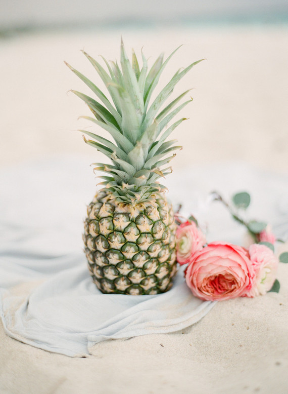 pineapples and flower crowns