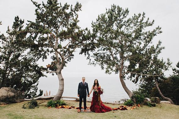 Big Sur Fall wedding