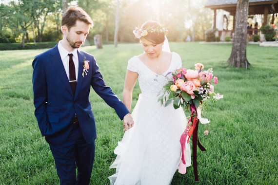 Garden inspired Texas wedding