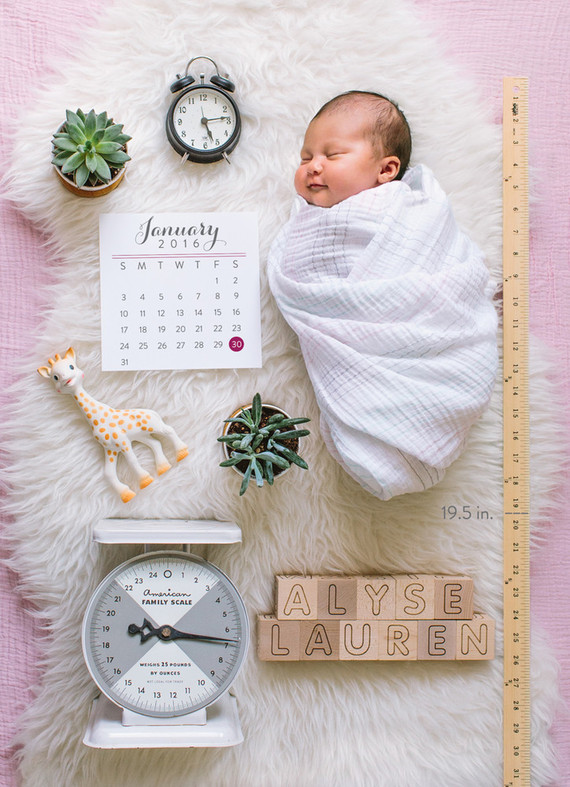 Newborn photography | Nursery photography | 100 Layer Cakelet