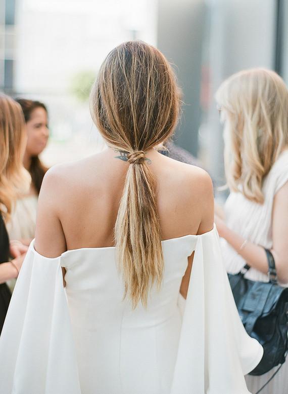 Modern ponytail