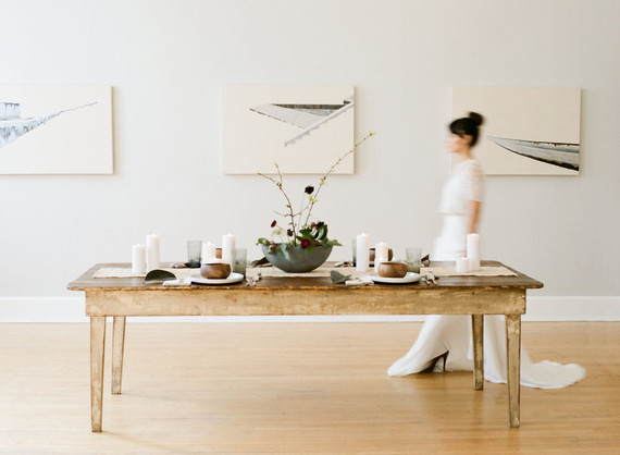 Organic modern wedding inspiration