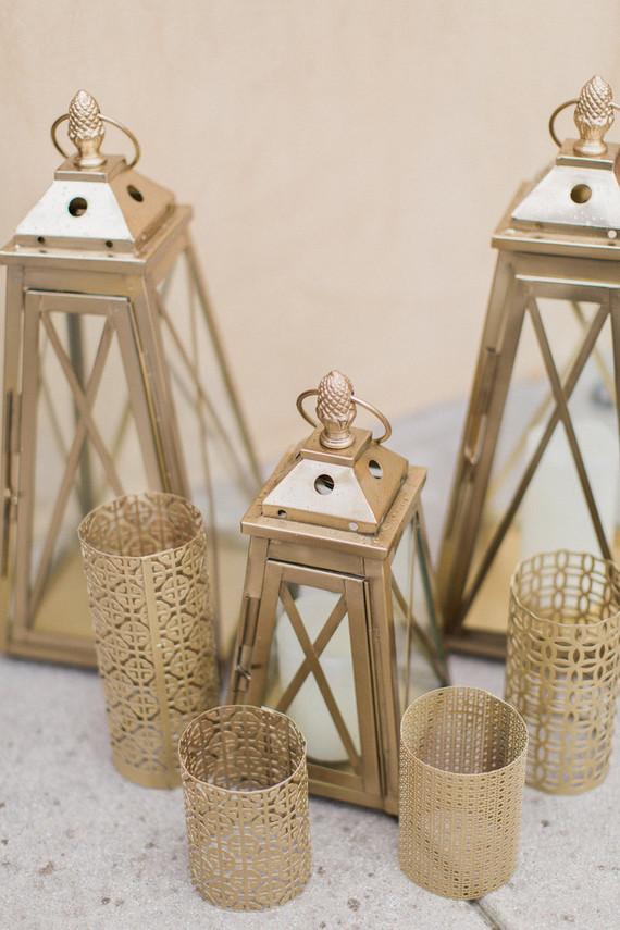 Gold lanterns