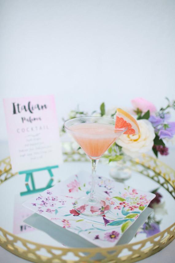 Pastel floral bridal shower inspiration