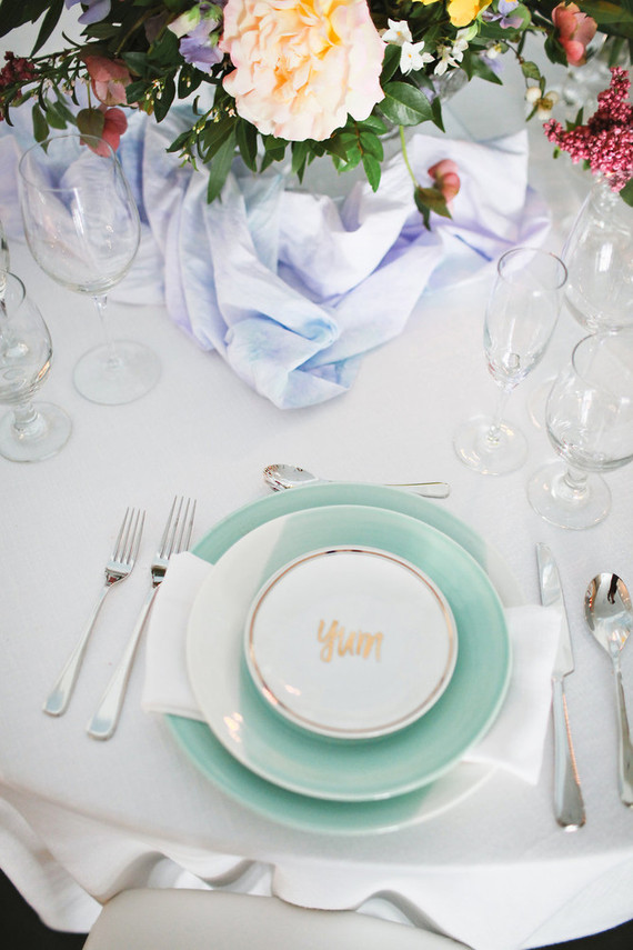 Pastel floral bridal shower inspiration