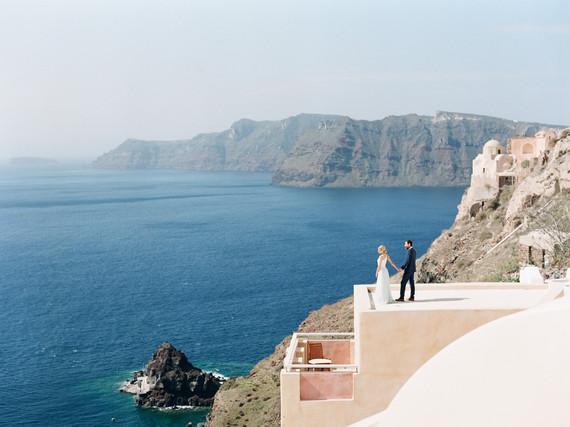 Santorini wedding inspiration