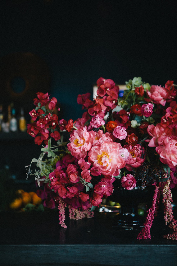 Pink Bougainvillea florals