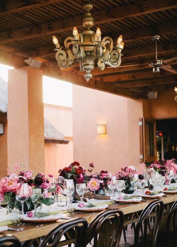 Baja California dinner party