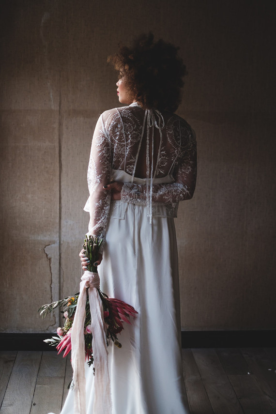 Modern and bohemian bridal inspiration