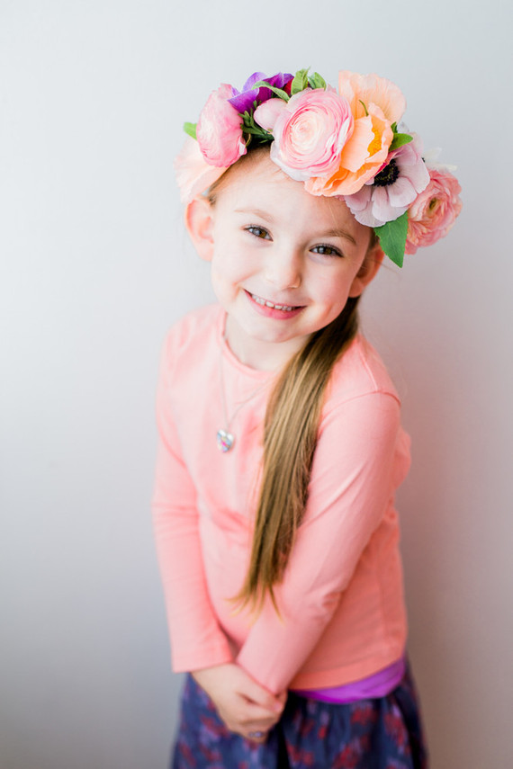 child flower crown