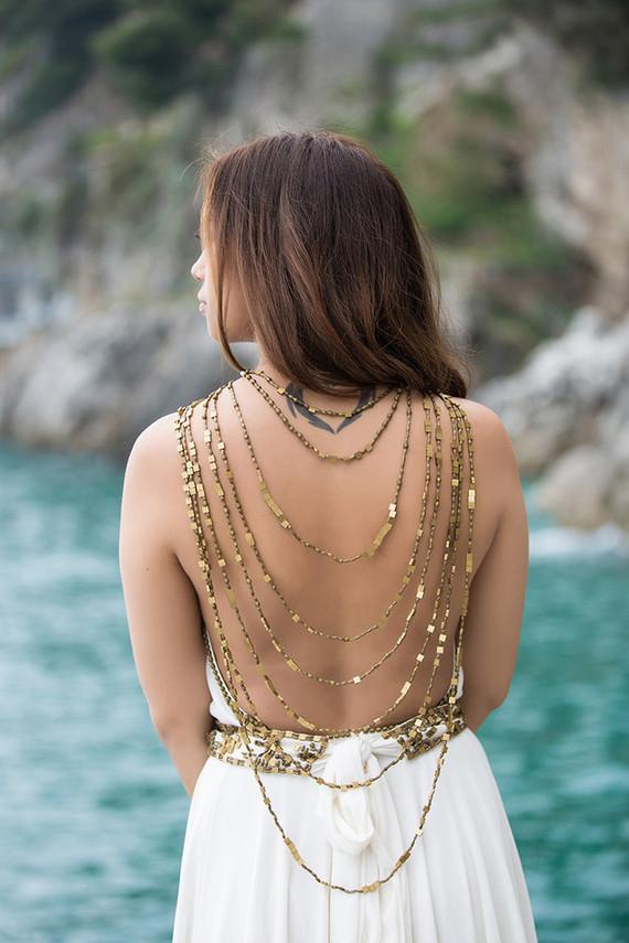 Amanda Wakeley Cleopatra Gown