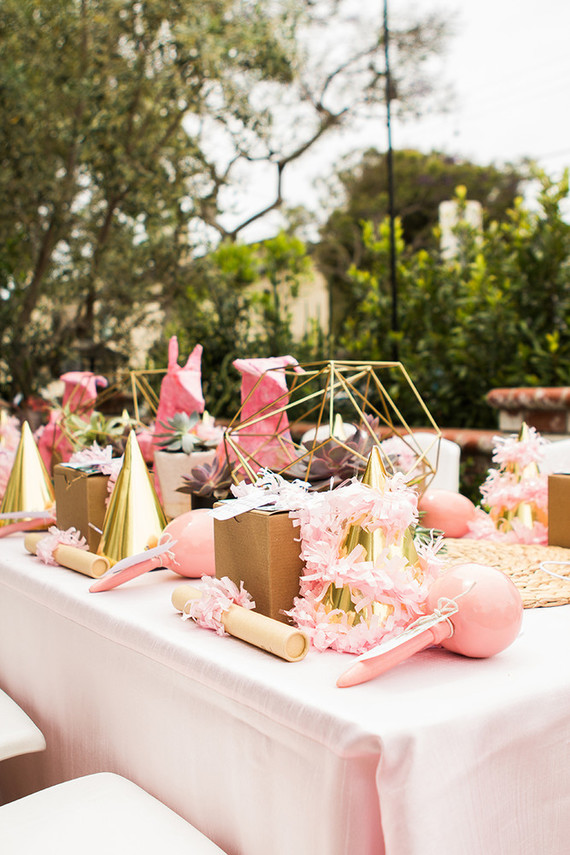 Cactus Themed First Birthday Party Pink Party Ideas