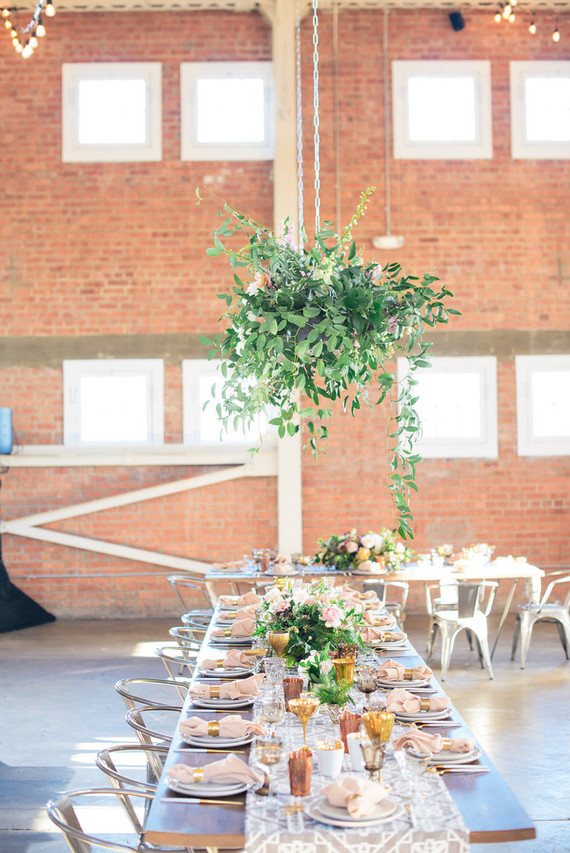 Modern loft wedding in San Diego