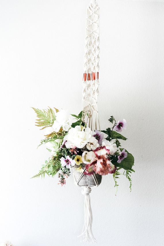 Macrame and floral workshop