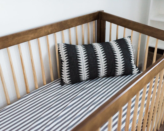 Neutral, modern boy's nursery