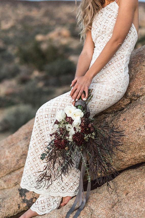 White Lace Bridal Jumpsuit
