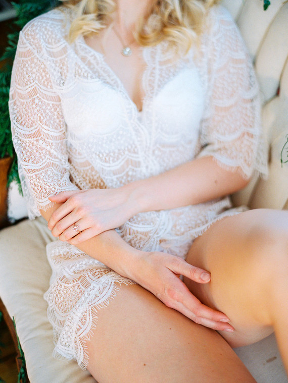 Spring styled boudoir editorial